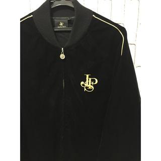 ジェーピーエス(JPS)の☆レア品 ジョンプレイヤースペシャル金刺繍 ベロアジップジャケット(ブルゾン)