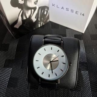 ダニエルウェリントン(Daniel Wellington)のKlasse14 42㎜ メンズ レディース ホワイト 即購入ok(腕時計(アナログ))