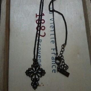 ぐーどしゃーす十字架ネックレス