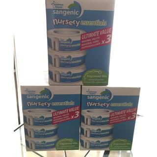 コンビ(combi)のsangenic オムツ処理用カートリッジ 3箱セット コンビ アップリカ対応(紙おむつ用ゴミ箱)