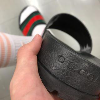 グッチ(Gucci)のGUCCI スライドサンダル27〜28cm(サンダル)