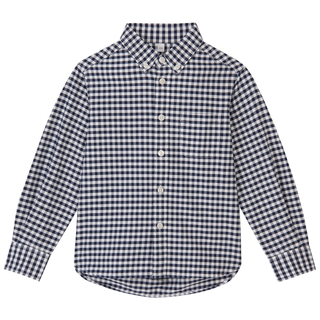 MUJI (無印良品) - 1回のみ着用!無印良品キッズシャツ110センチ男の子オックスフォードシャツ
