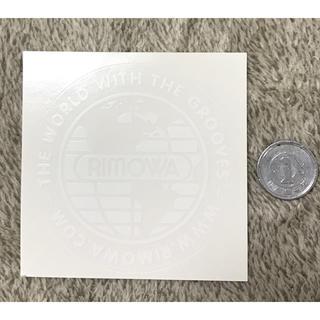 リモワ(RIMOWA)のリモワ ステッカー rimowa 純正 sticker 白(トラベルバッグ/スーツケース)