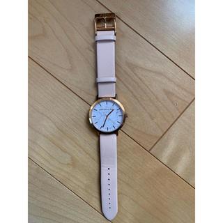 クリスチャンポー(CHRISTIAN PEAU)のクリスチャンポール 腕時計 ピンク 白ベルト(腕時計)