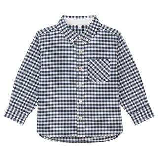 MUJI (無印良品) - 1回のみ着用!無印良品キッズシャツ90センチ男の子オックスフォードシャツ