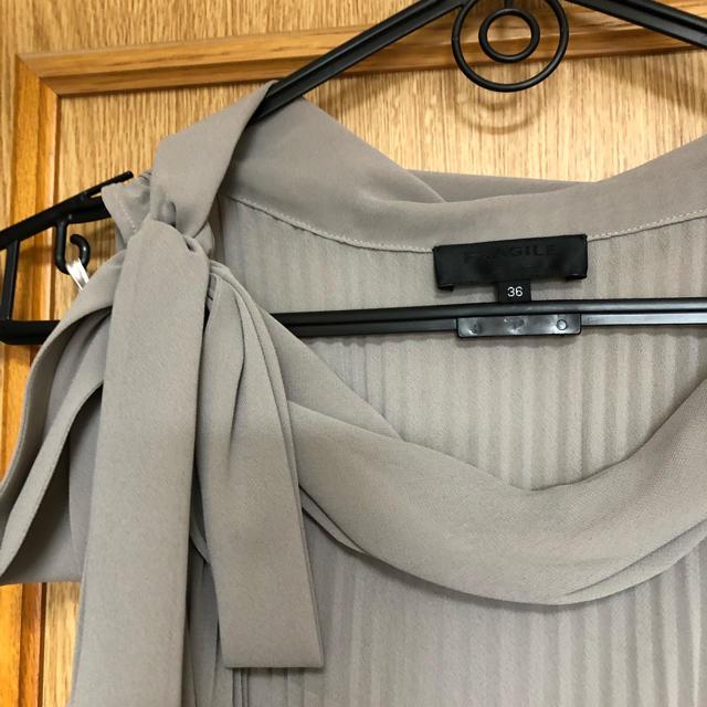 11589da673ebb FRAGILE(フラジール)の美品 FRAGILE 36 ツイードジャケット ワンピース レディース