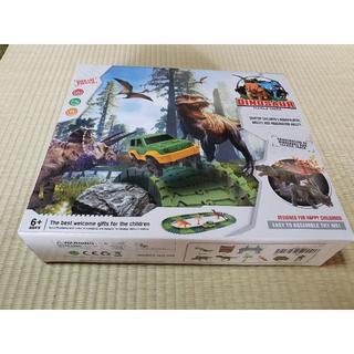 クリスマスに!レールセット 恐竜おもちゃ 144点 (鉄道模型)