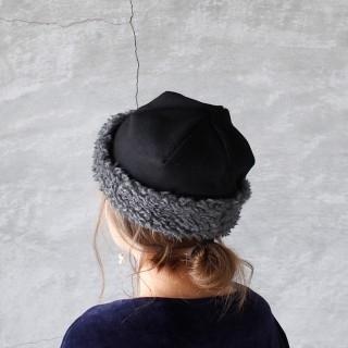ネストローブ(nest Robe)のマチュアーハ hood cap(ニット帽/ビーニー)