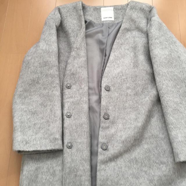 BABYLONE(バビロン)のちーたろー♡様お取り置き商品 12/10お支払いです レディースのジャケット/アウター(ロングコート)の商品写真