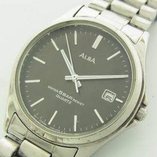 アルバ(ALBA)のセイコー アルバ メンズ デイト クォーツ アナログ 腕時計 ウォッチ 動作品(腕時計(アナログ))