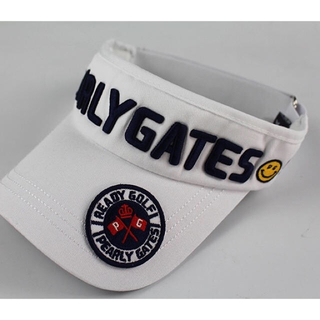 パーリーゲイツ(PEARLY GATES)の【新品】PEARLY GATES サンバイザー 帽子 ゴルフ パーリーゲイツ (キャップ)
