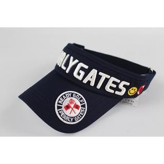 パーリーゲイツ(PEARLY GATES)の【新品】PEARLY GATES サンバイザー 帽子 ゴルフ パーリーゲイツ (サンバイザー)