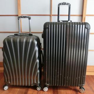 展示品(D)★LとMの2点セット★PC素材スーツケース、キャリーケース(トラベルバッグ/スーツケース)