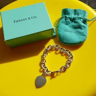 ティファニー(Tiffany & Co.)のティファニーハートブレスレット(ブレスレット/バングル)