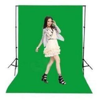 緑色グリーン布バック写真撮影用背景布クロマキー(1.6m×1m)バックペーパー(その他)