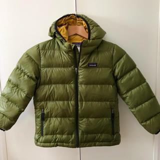 パタゴニア(patagonia)のパタゴニア ボーイズ ハイロフト ダウンセーター フーディ XS(ジャケット/上着)