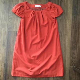 クチュールブローチ(Couture Brooch)のクチュールブローチ♡フォーマルワンピース♡サイズ36(ひざ丈ワンピース)