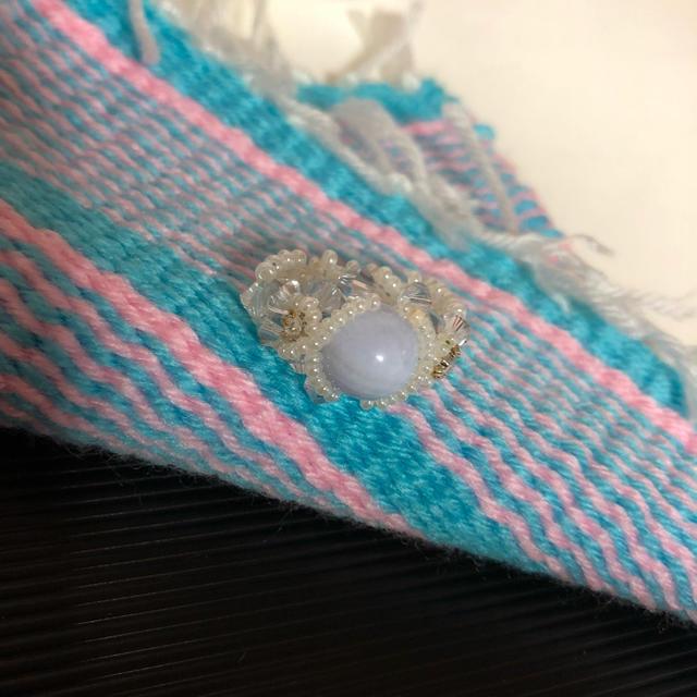 ビーズ指輪 レディースのアクセサリー(リング(指輪))の商品写真