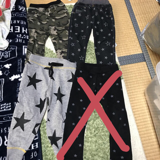 シマムラ(しまむら)の裏起毛パンツまとめ売り 95〜100サイズ(パンツ/スパッツ)