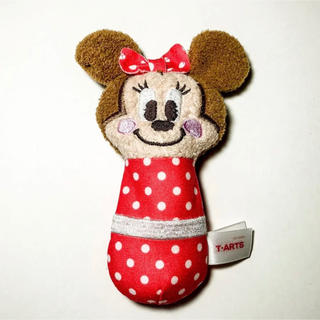 ディズニー(Disney)の赤ちゃん用 ミニーちゃんのがらがらラトル(がらがら/ラトル)