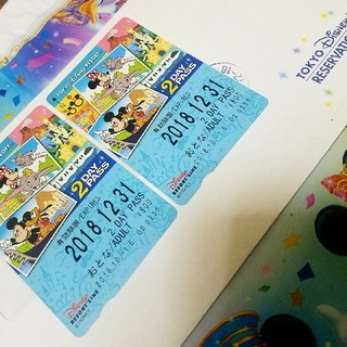 ディズニー(Disney)の🏰ディズニー🌏リゾートライン🚃2daysフリーパス🎫2枚set❕(鉄道乗車券)