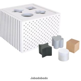 イケア(IKEA)のjabadabaeo 型はめ キッズコンセプト  汽車(知育玩具)