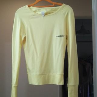 アディダス(adidas)のアディダス黄色ロングTシャツ(Tシャツ(長袖/七分))