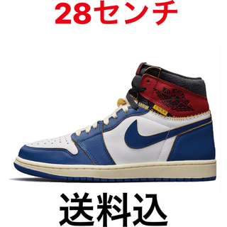 ナイキ(NIKE)のUNION AIR JORDAN 1 RETRO HI NRG BLUE(スニーカー)