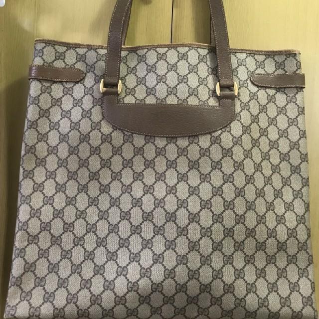 Gucci(グッチ)のGUCCI トートバッグ ヴィンテージ レディースのバッグ(トートバッグ)の商品写真