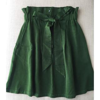 シャンブルドニーム(chambre de nimes)のr.p.c 美品スカート(ひざ丈スカート)