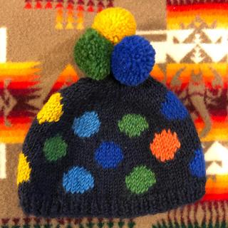 キッズフォーレ(KIDS FORET)の【kids foret】キッズニット帽(帽子)