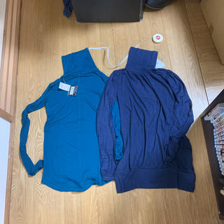 ザラ(ZARA)の新品 ザラ タートル2枚セット サイズS 緑・紺(その他)