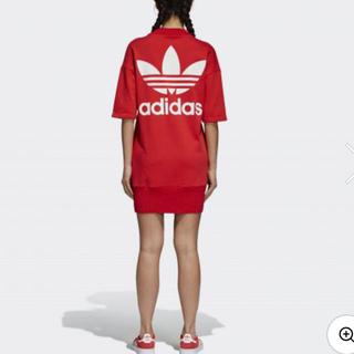 アディダス(adidas)のアディダス ワンピース 新品 OT(ミニワンピース)