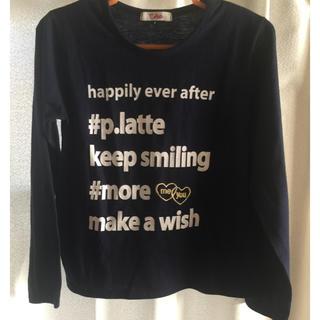 ピンクラテ(PINK-latte)のPINK-latte 長袖Tシャツ(Tシャツ/カットソー)