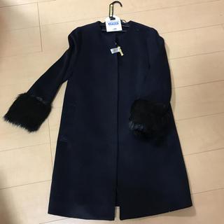 ジーユー(GU)のgu ファーコート 美品 (毛皮/ファーコート)