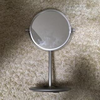 MUJI (無印良品) - 無印良品 アルミコンパクトミラー・トレー式 小