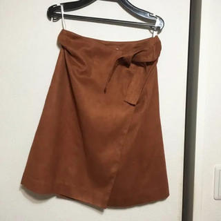 パウダーシュガー(POWDER SUGAR)のパウダーシュガー 巻きスカート(ひざ丈スカート)
