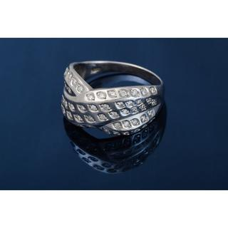 Pt900 ダイヤモンド リング 品番6-689(リング(指輪))