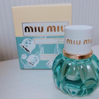 ミュウミュウ(miumiu)の新品 miumiu ミュウミュウ ローブルー (香水(女性用))