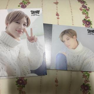 シャイニー(SHINee)のテミン fc限定 ポストカード 2種類(K-POP/アジア)