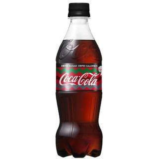 コカコーラ(コカ・コーラ)のコカ・コーラ ゼロ ペットボトル 500ml×24本(ソフトドリンク)