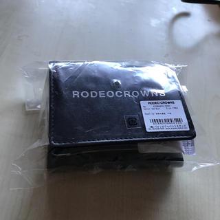 ロデオクラウンズ(RODEO CROWNS)の未使用品☆RODEO CROWNS レザーミニウォレット(財布)