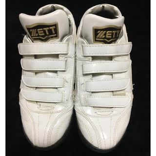 ゼット(ZETT)のZETT 野球 シューズ 22.5㎝(シューズ)
