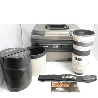キヤノン(Canon)の良品 Canon EF300mm F2.8L IS USM フードレンズケース付(レンズ(ズーム))