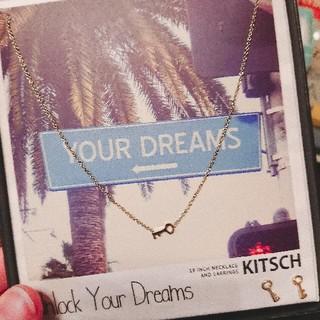 キッチュ(KITSCH)のピアスとネックレス(ネックレス)