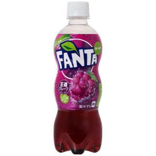 コカコーラ(コカ・コーラ)のコカ・コーラ ファンタ グレープ ペットボトル 500ml×24本(ソフトドリンク)