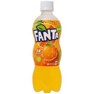 コカコーラ(コカ・コーラ)のコカ・コーラ ファンタ オレンジ ペットボトル 500ml×24本(ソフトドリンク)