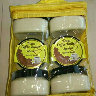 コナ(Kona)のコナ コーヒー バター6個 Kona Coffee Butter ハワイ(その他)