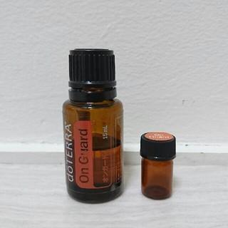 ドテラ 小分け オンガード 2ml(40滴) エッセンシャルオイル 携帯用(エッセンシャルオイル(精油))