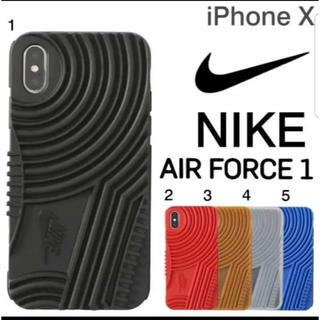 ナイキ(NIKE)のiPhone 8 スマホケース ナイキ 黒(iPhoneケース)